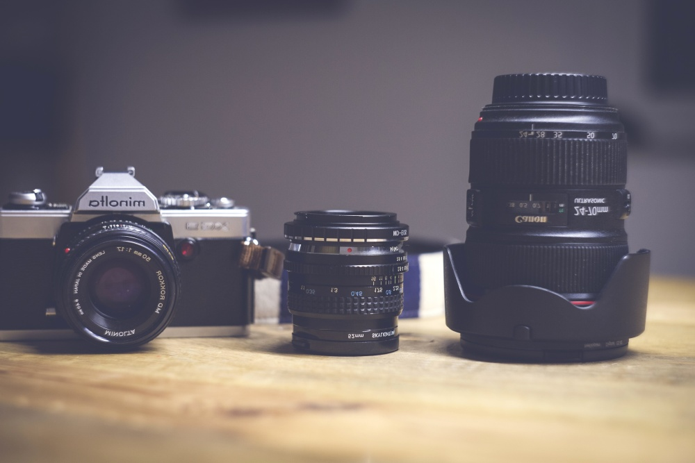 photo camera, zoom, lens, camera, equipment