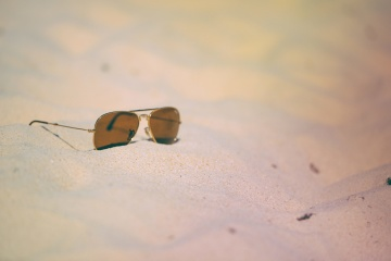 sunglasses, beach, sand, summer