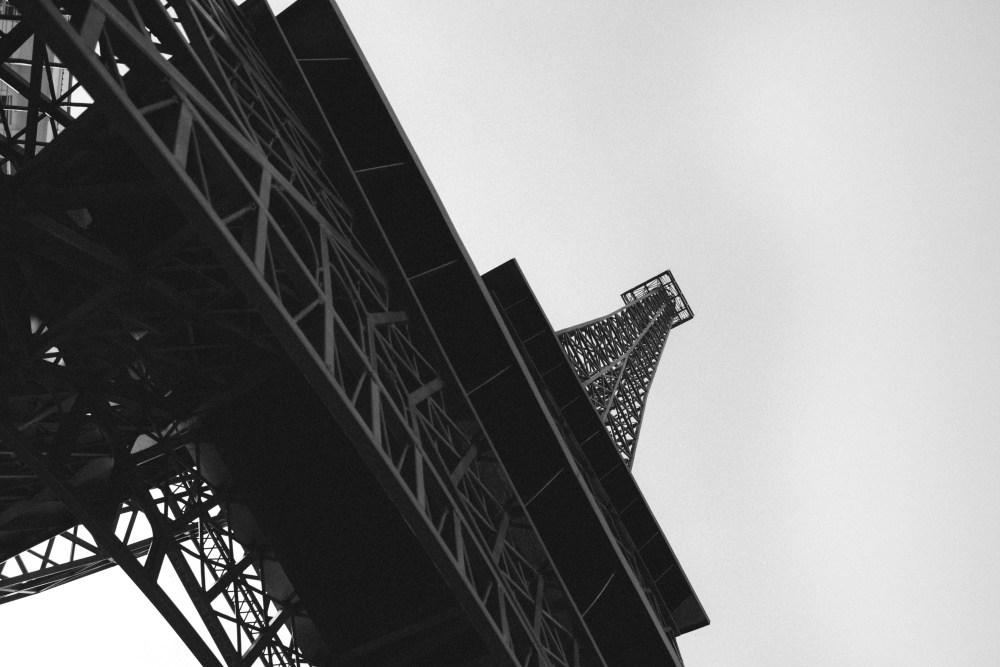 tower, France, metal, construction, architecture, city, urban, tall, sky