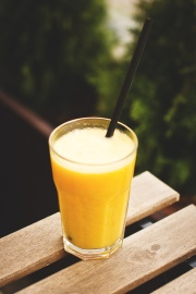 orange juice, fruit juice, glass, beverage, drink, glass, liquid, cocktail