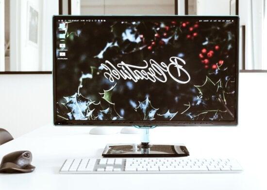 computer keyboard, minimal design, office
