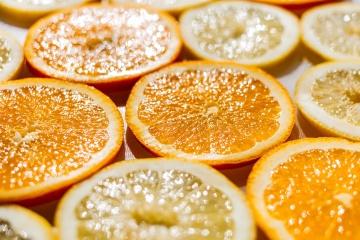 Naranja, fruta, limón, cítrico, fresco, dieta, alimento, alimento