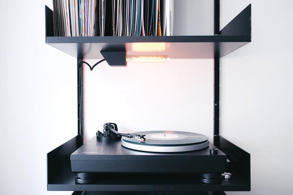 music, vinyl record, device, equipment