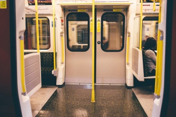 door, subway, underground, train, conveyance, interior, transport