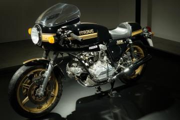 Classique, oldtimer, moto, moteur, véhicule