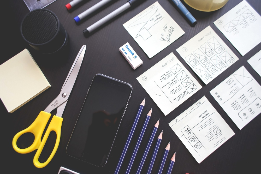 sketch, office, icon, mobile phone, object, scissors, tool