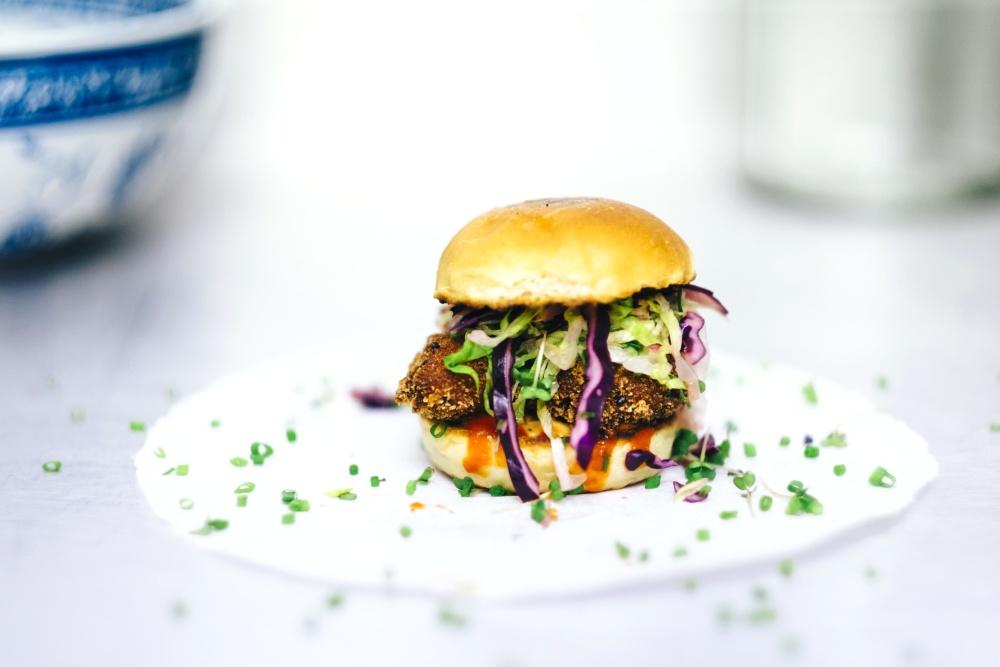 food, hamburger, diet, kitchen, sandwich