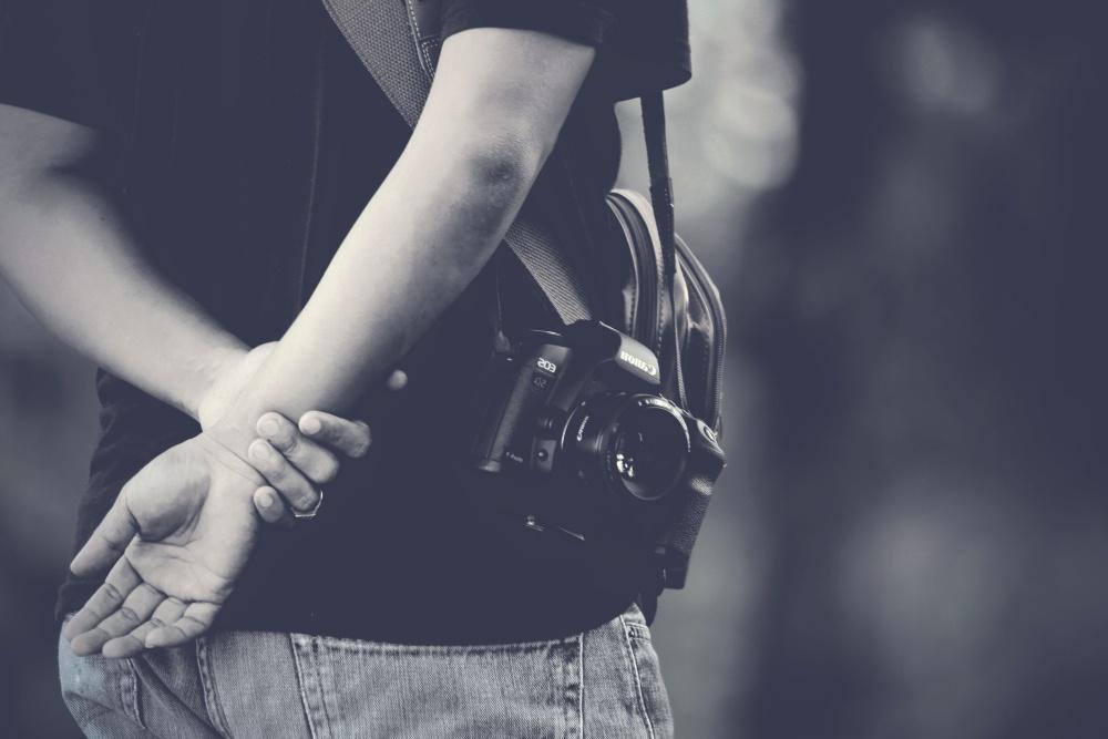 photographer, photo camera