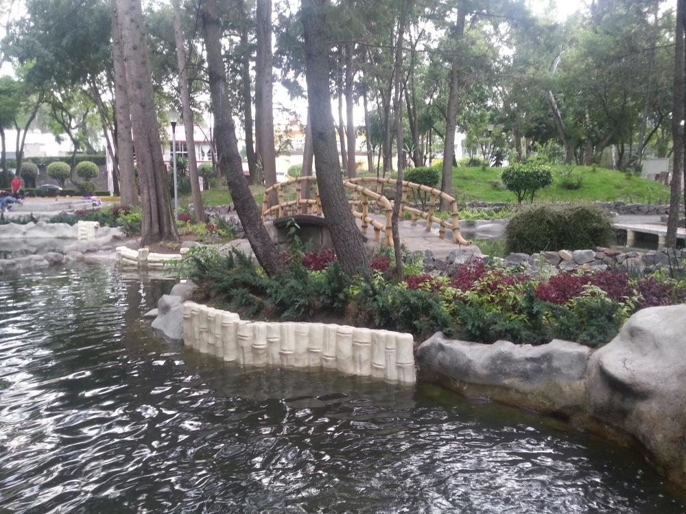 national park, Japanese garden, water, landscape, lake
