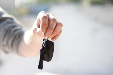 car keys, hand, human, finger, person