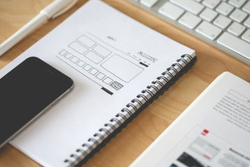 web design, layout, sketch, laptop keyword, mobile phone