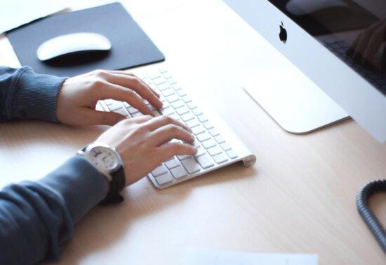 technology, hands, work, office, internet, laptop computer, businessman