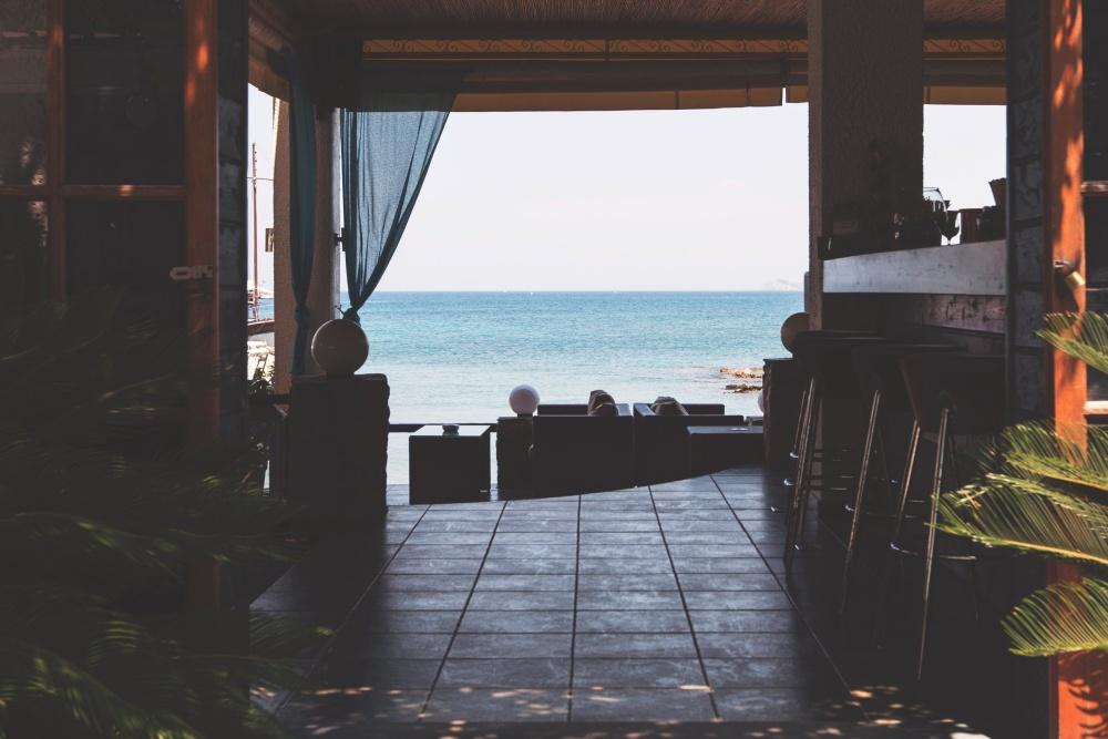 interior, beach house, beach, summer