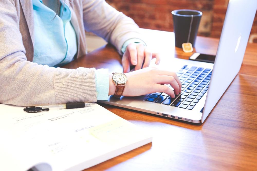 businesswoman, woman, laptop computer, office, programmer, business