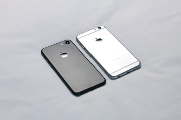 Téléphone portable, conception minimale, luxe, technologie