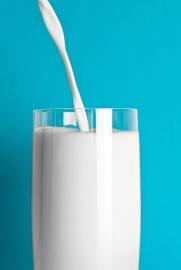 Vetro, latte, bere, liquido