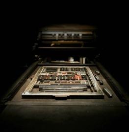 prensa modelo, tipografia, equipamentos, dispositivos