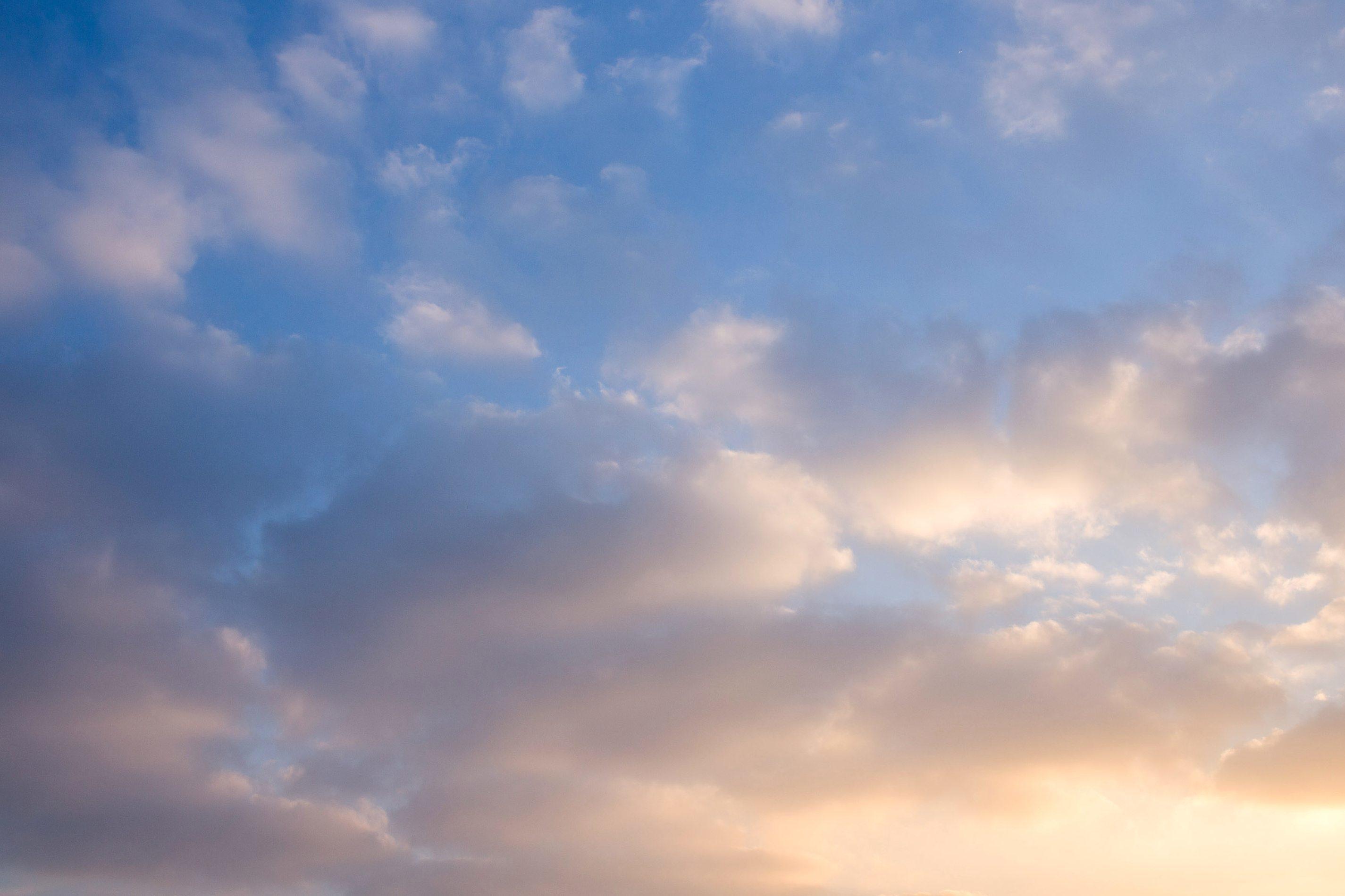 Clouds Blue Sky Atmosphere Ozone Meteorology Cloud Light