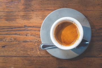 espresso, porcelæn, kaffe, drikke, cup, drink, cappuccino, krus