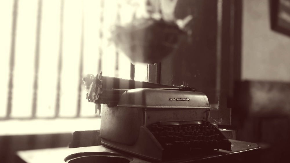 pisaći stroj, izleta, stroj, objekt
