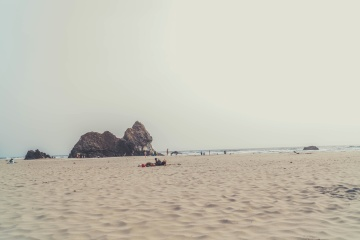 beach, sand, sea, shore, coast, water, summer, island, shoreline