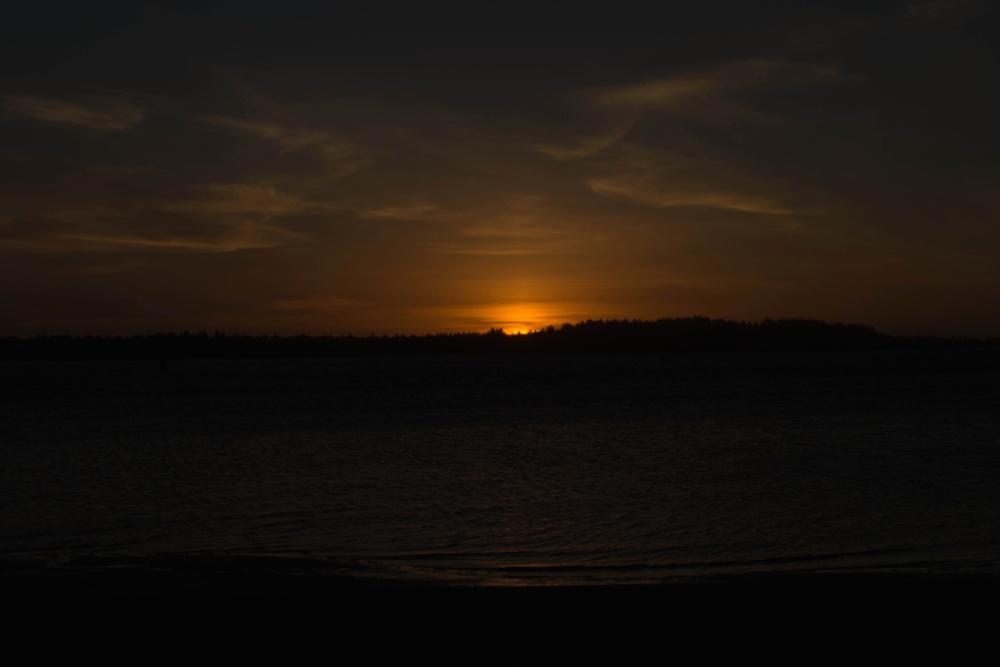 sun, night, sunset, dark, sky, sunrise