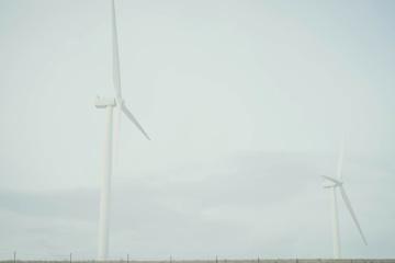turbíny, elektrickej energie, vietor, energie, energie, generátor, priemysel