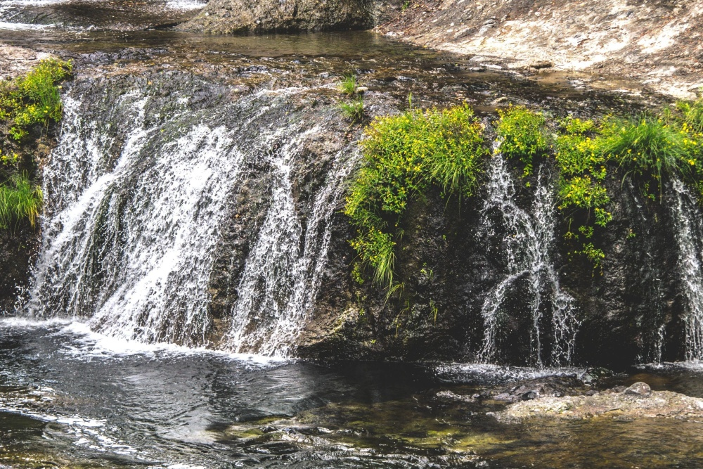 water, waterfall, river, landscape, stone, stream, environment