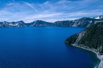 Blau, meer, wasser, küste, strand, landschaft, himmel, sommer, insel