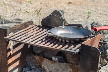 barbecue, iron, rust, old, object