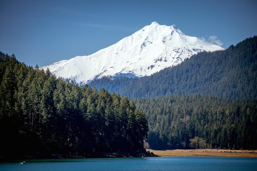 mountain, glacier, snow, landscape, mountain peak