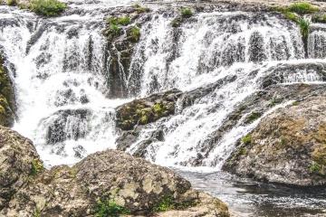 vode, stijene, prirode, vodopad, potok, Rijeka, krajolik, ljeto