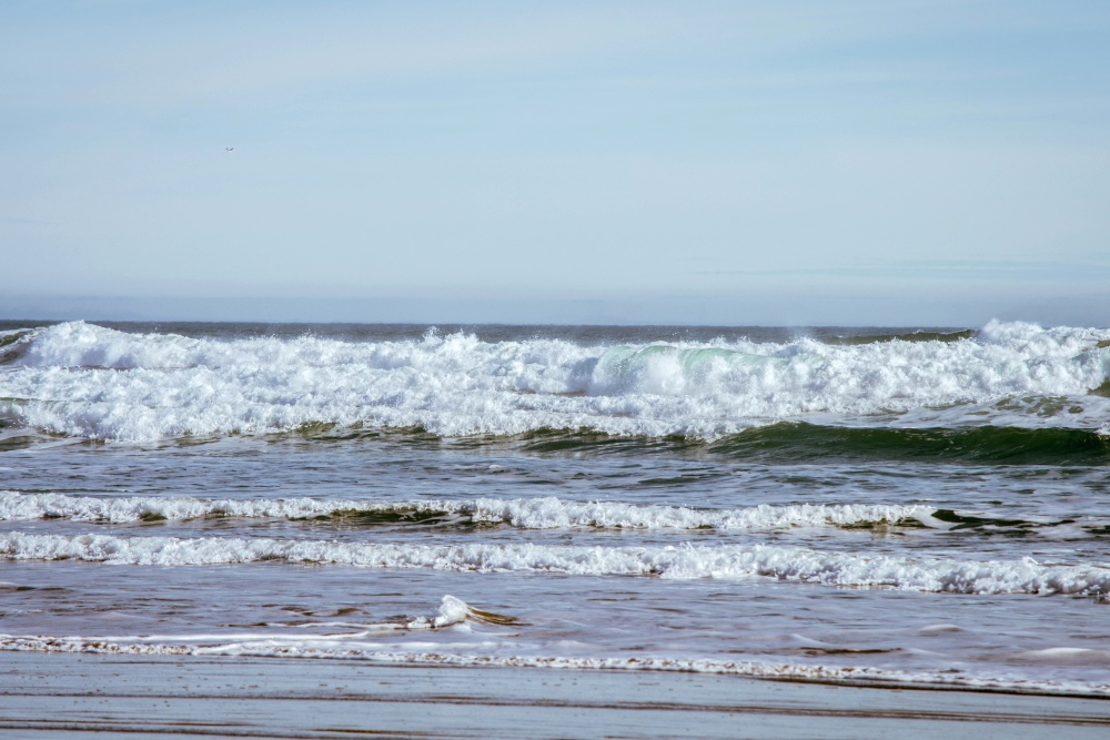 beach, water, sea, ocean, nature, shore, coast, sand
