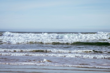 strand, vatten, havet, ocean, natur, strand, kust, sand