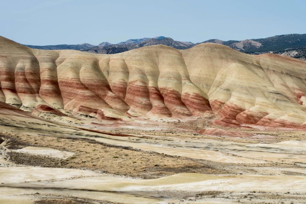 hill, desert, geology, landscape, nature, sand, dry, sandstone, erosion
