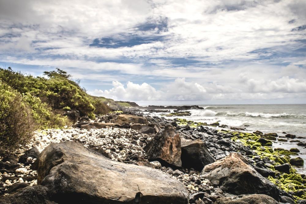 beach, water, seashore, sea, landscape, sky, ocean, nature