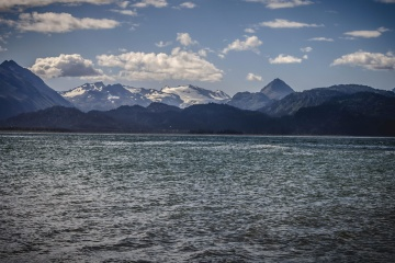 water, mountain, landscape, lake, nature, sea, island, coast, beach