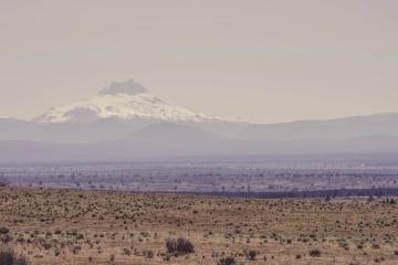 púšte, hory, krajina, suché, hladké