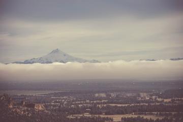 Sky, vrchol hory, príroda, cloud
