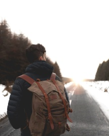 people, man, winter, adventure, winter, snow, travel