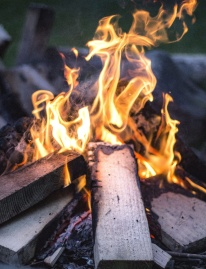 flame, fireplace, heat, burn, firewood, bonfire, campfire