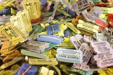 penjualan, pasar, warna-warni, kertas