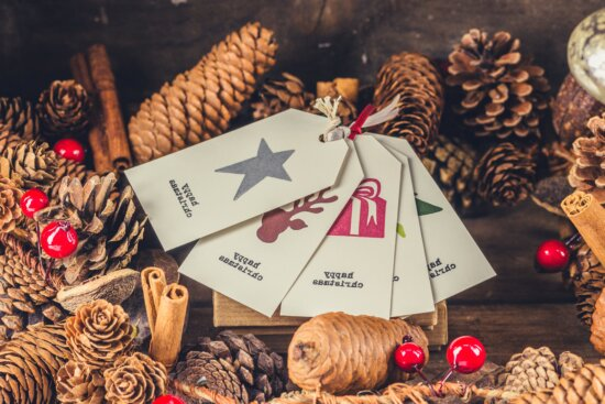 Christmas, winter, decoration, card, gift