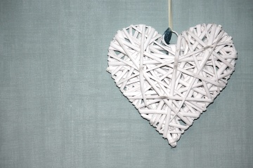 heart, paper, white, decoration, object, love, art, handmade
