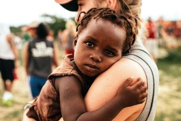 folk, kvinde, barn, forældre, familie, portræt, mor