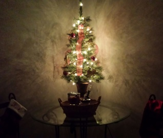 Christmas tree, lamp shadow, interior decoration, light