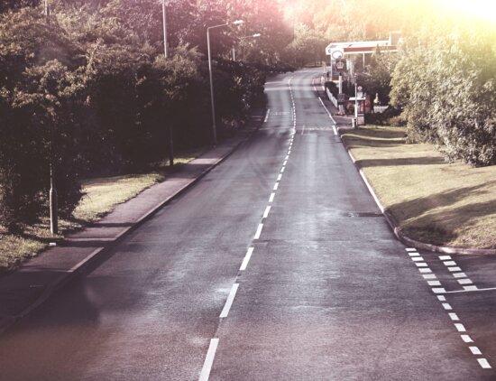 road, highway, asphalt, street