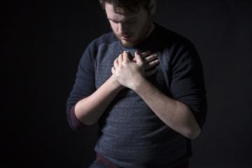 prayer, man, people, dark, body, portrait