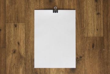 hârtie albă, lemn, gol, gol