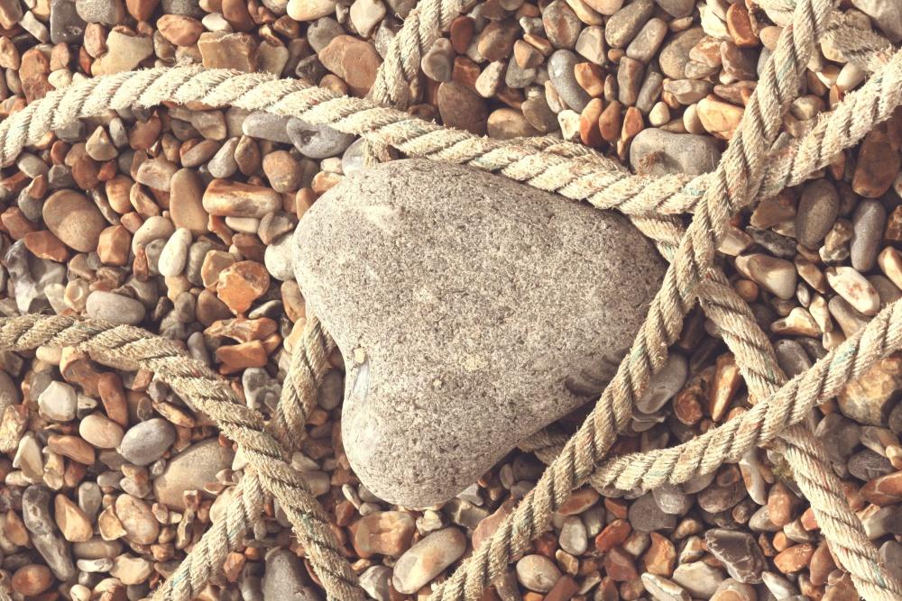 Corda, pietra, struttura, natura, materiale